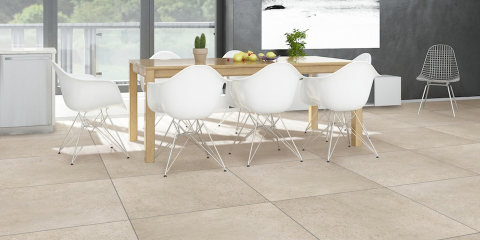Light grey 830 andersson stone series casatiles for Carrelage refin