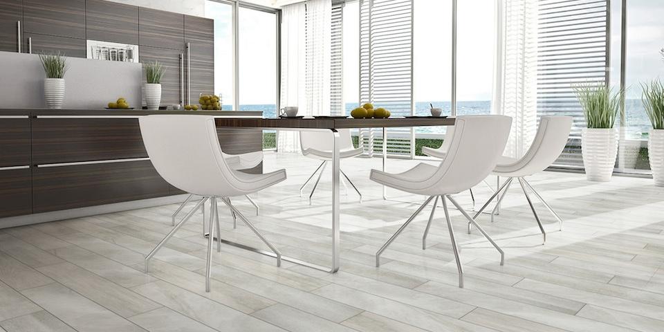 Light grey 930 streamline series casatiles quality tiles for Carrelage imitation parquet pour cuisine